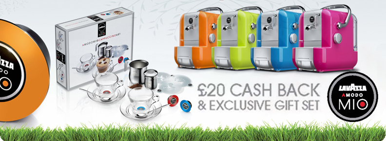 £20 CASH BACK & EXCLUSIVE GIFT SET