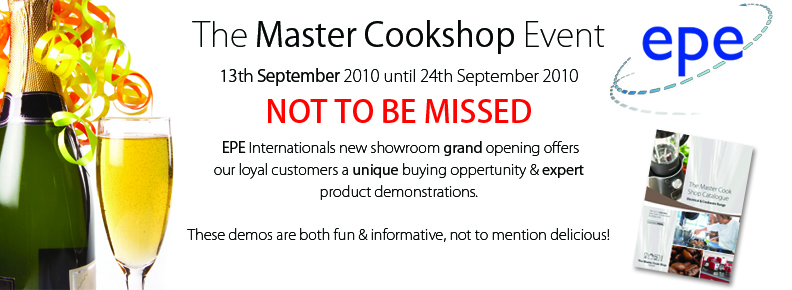 The Master Cook Shop Event